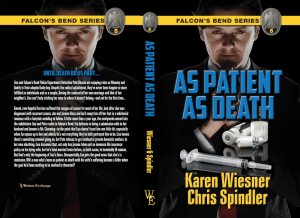 Falcon's Bend Series, Book 5: As Patient as Death Print cover