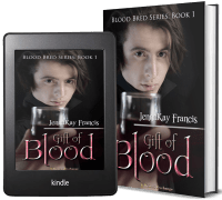 Blood Bred Series, Book 1: Gift of Blood 2 covers