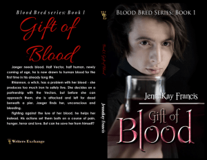 Gift of Blood Print Cover