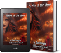Red Queen Series, Book 2: Strike of the Viper covers