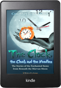 The Clock, The Cloak and the Needles Kindle cover