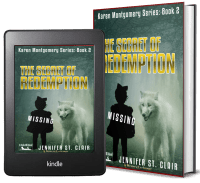 A Beth-Hill Novel: Karen Montgomery Series, Novella 2: The Secret of Redemption 2 covers