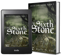 A Beth-Hill Novel: Jacob Lane Series Book 5: The Sixth Stone 2 covers