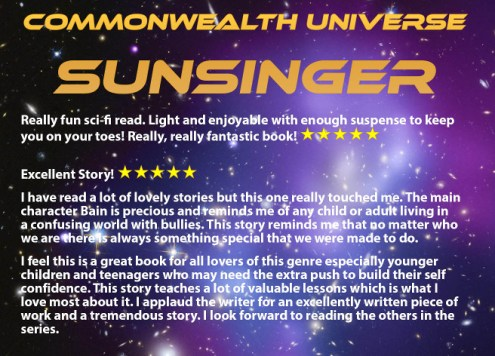 Sunsinger Review with no cover