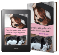 Friendship Heirlooms Series, Book 1: Clumsy Girl's Guide to Falling 2 covers