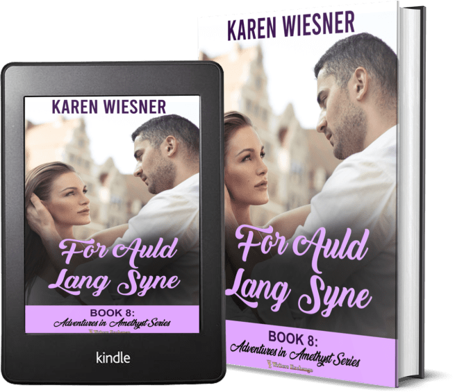 Adventures in Amethyst Series, Book 8: For Auld Lang 2 covers