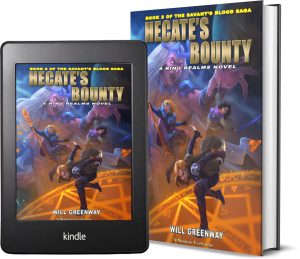 A Ring Realms Novel: Savant's Blood Saga, Book 2: Hecate's Bounty 2 covers