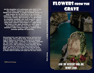 Jane Doe Mystery, Book 1: Flowers from the Grave Print cover new