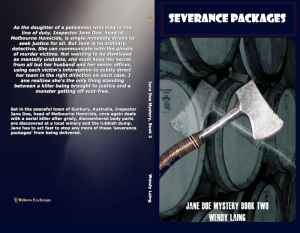 Severance Packages Print cover new