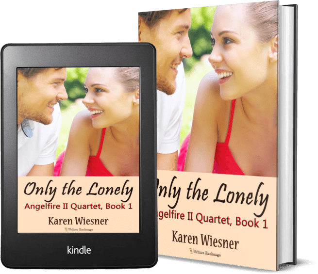 Angelfire II Quartet, Book 1: Only the Lonely 2 covers