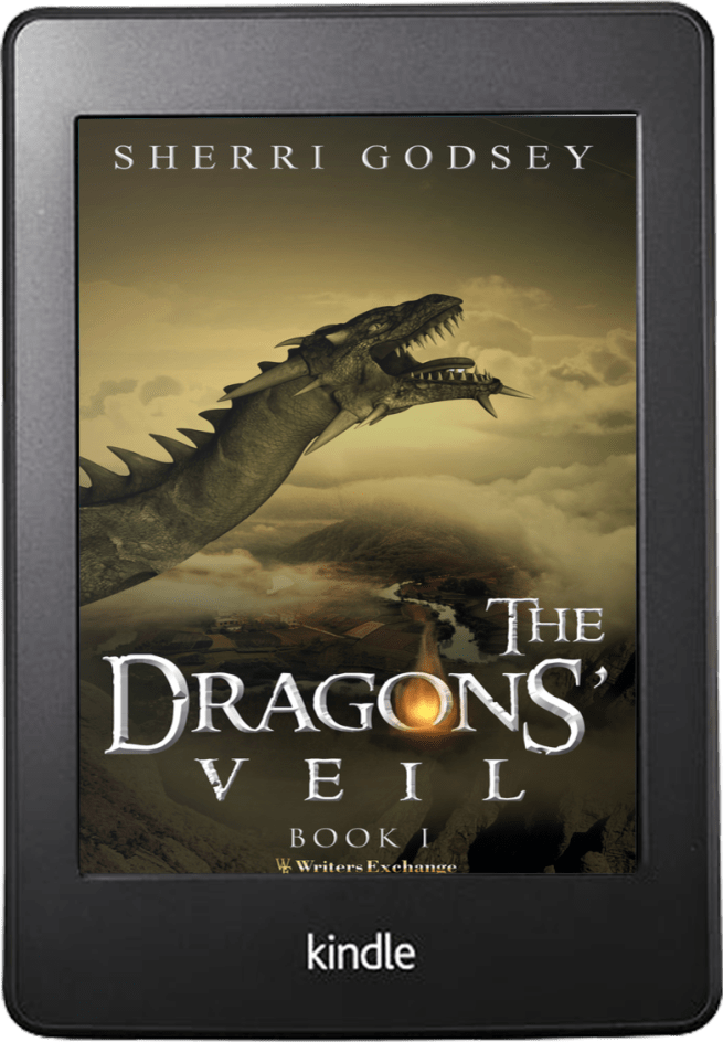 The Dragons' Veil Kindle cover