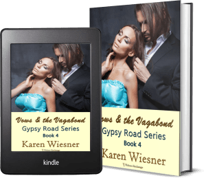Gypsy Road Series, Book 4: Vows & the Vagabond 2 covers