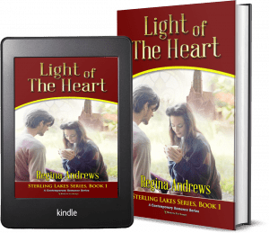 Sterling Lakes Series, Book 1: Light of the Heart covers
