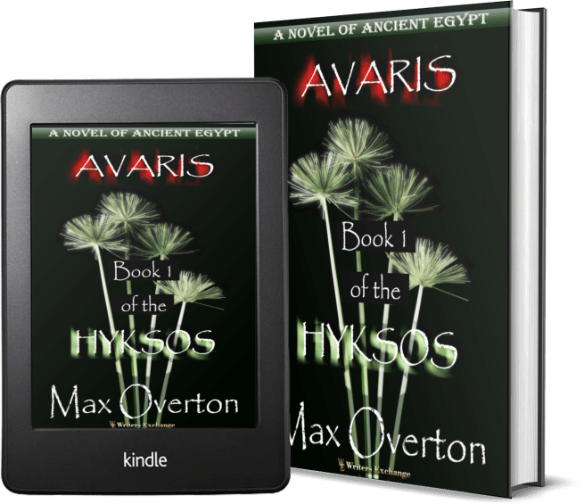 Hyksos Series, Book 1: Avaris, A Novel of Ancient Egypt 2 covers