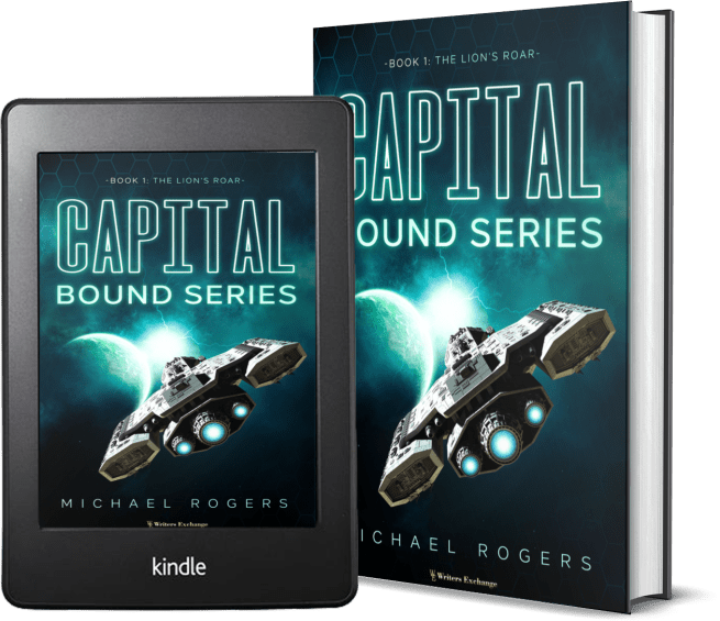 Capital Bound Series, Book 1: The Lion's Roar 2 covers