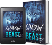 Shadow of the Beast by Margaret L. Carter 2 covers