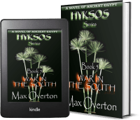 Hyksos Series, Book 5: War in the South, A Novel of Ancient Egypt 2 covers