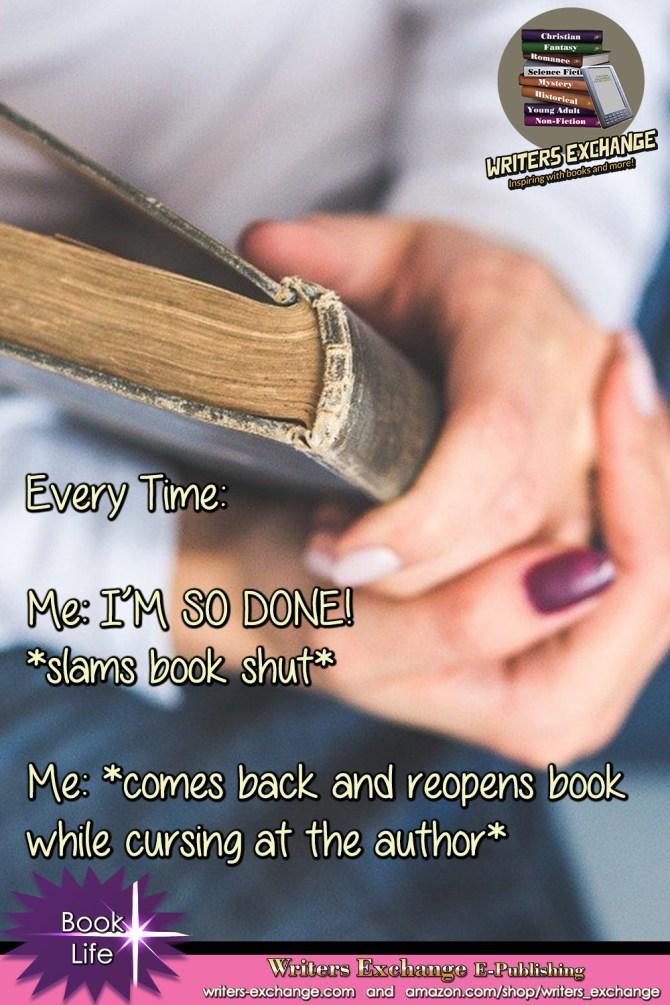 Book Meme: Cursing at Author