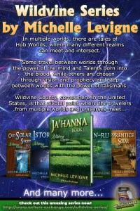 Wildvine Series with book covers and blurb graphic