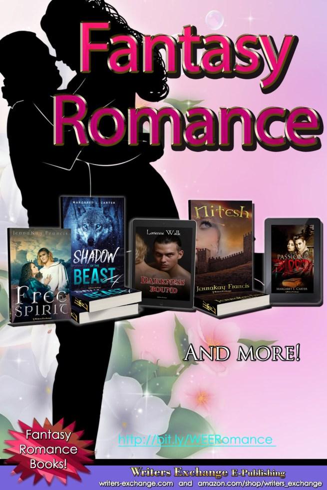 Selection of Fantasy Romance Books