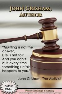 Author Quote: John Grisham