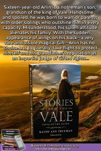 Gifts of the Elven Book with Blurb Vertical Image