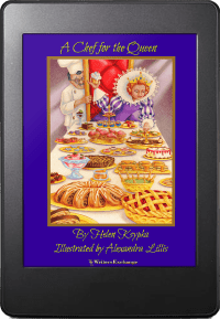 A Chef for the Queen ebook cover
