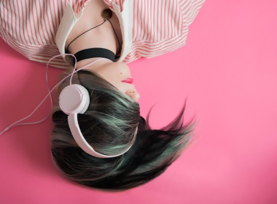 Drowning out background noise is key to getting into the writing zone.