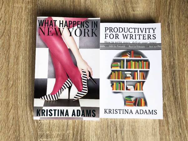 On the left is a copy printed by CreateSpace, and on the right a proof copy printed by KDP.