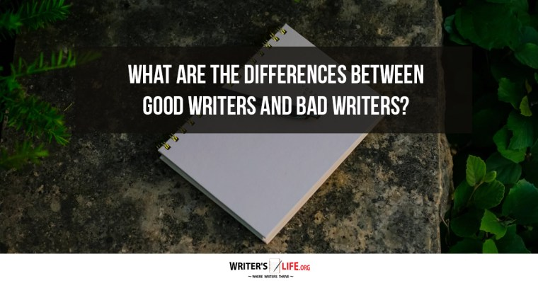 Image result for good writers vs bad writers