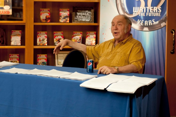 Mike Resnick, editor of Galaxy's Edge Magazine and L. Ron Hubbard Writers of the Future contest judge