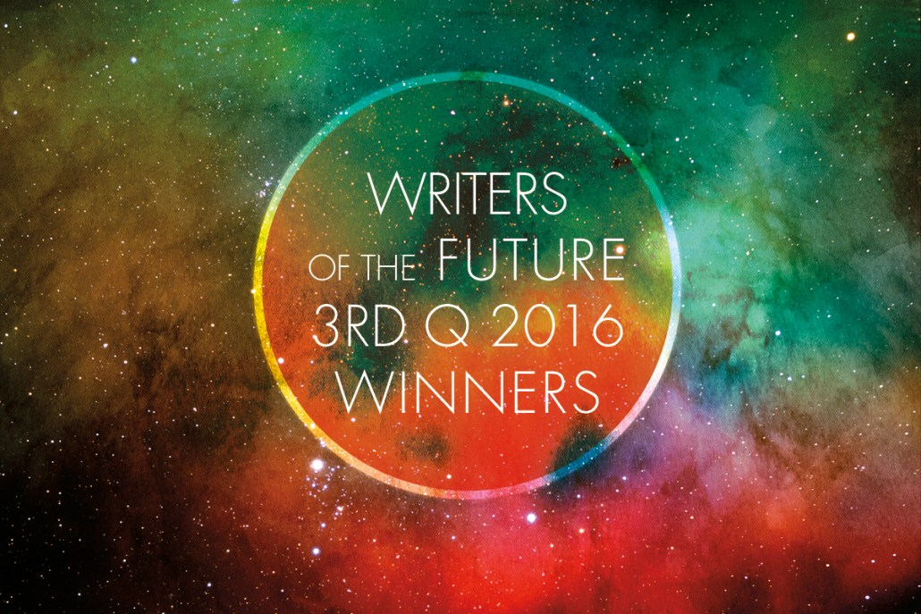 Writers of the Future Contest 3rd Quarter Winners 2016