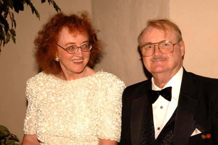 Roberta and Jerry Pournelle