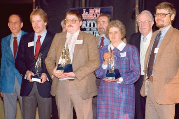Roger Zelazny, David Zindell, Dennis J. Pimple, Robert Silverberg, Jor Jennings, Jack Williamson, Dr. Gregory Benford.