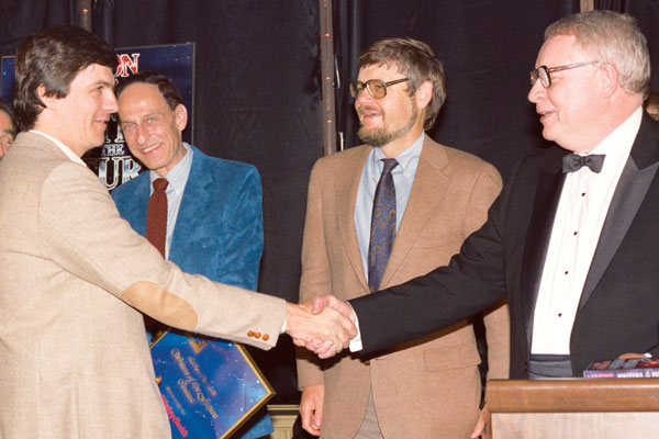 Dean Wesley Smith, Roger Zelazny, Gregory Benford and Algis Budrys