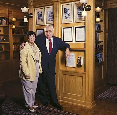 Algis and Edna Budrys