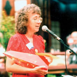 Gold award-winner, Nancy Farmer
