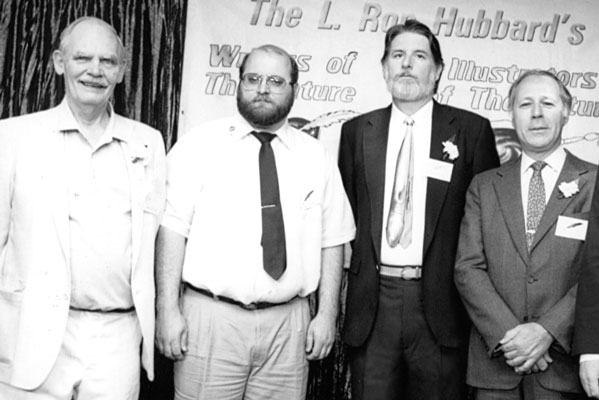 Frederik Pohl, Dave Wolverton, John Varley, Ben Bova.