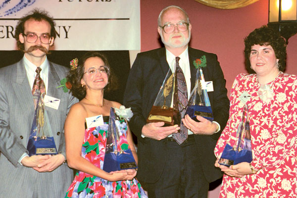 First Place winners: Barry H. Reynolds, Valerie J. Freireich, James C. Glass and Michelle L. Levigne