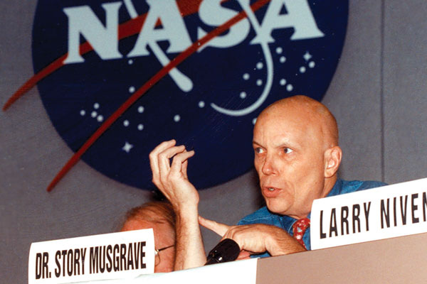 Astronaut Dr. Story Musgrave