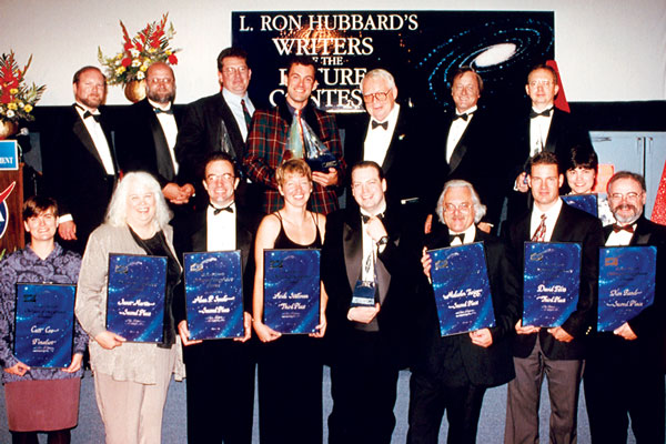 The winners and presenting judges for 1997.