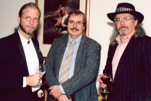 Returning WotF authors Bruce Holland Rogers, James Alan Gardner and Dean Wesley Smith.
