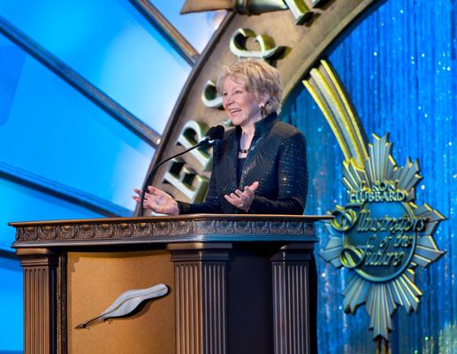 Keynote speaker, Dr. June Scobee Rodgers.