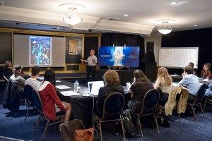 Illustrators Workshop with guest speaker Peter Green.