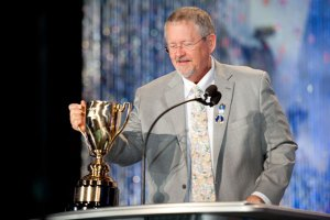 The L. Ron Hubbard Lifetime Achievement Award for Contributions to the Arts presented to Orson Scott Card.