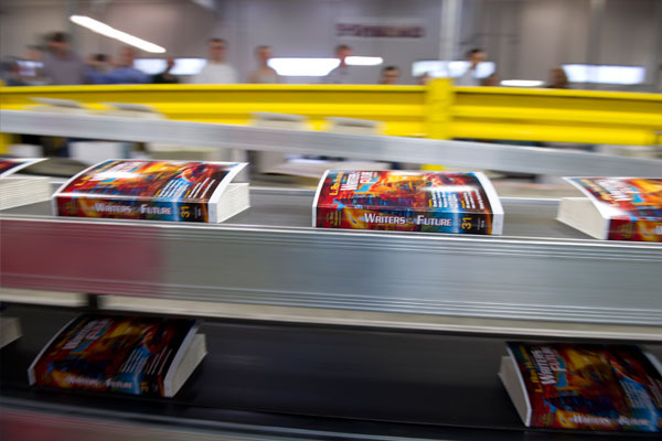 L. Ron Hubbard Presents Writers of the Future Volume 31 as it rolls off the press!