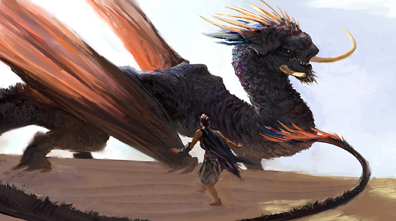 """Dragon Encounter"" by Quinlan Septer"