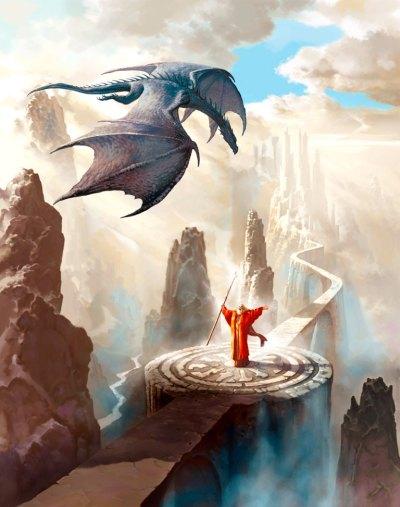 """""""Dragon Caller"""" by Ciruelo"""