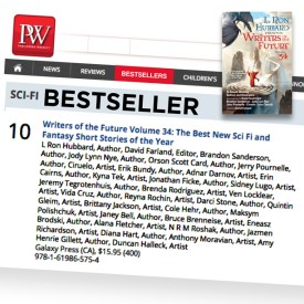 Publishers Weekly Sci-Fi Bestseller List