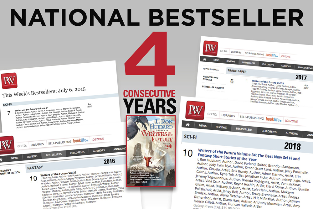 National Bestseller 4 Consecutive Years